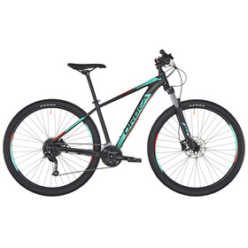 "ORBEA MX 40 MTB Hardtail 29"" sort/turkis"